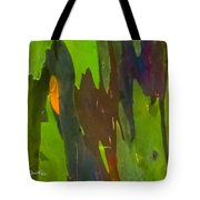 Rainbow Eucalyptus 6 Tote Bag