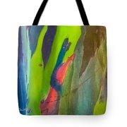 Rainbow Eucalyptus 7 Tote Bag