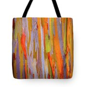 Rainbow Eucalytpus Tote Bag