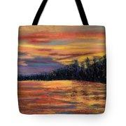 Rainbow Evening Tote Bag
