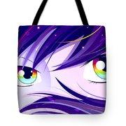Rainbow Eyes Tote Bag