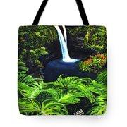 Rainbow Falls #83 Tote Bag