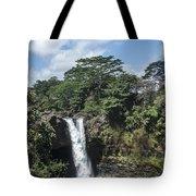 Rainbow Falls Hawaii Tote Bag