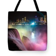 Rainbow Falls Tote Bag