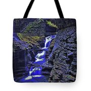 Rainbow Falls Watkins Glen State Park Tote Bag
