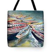 Rainbow Flotilla Tote Bag