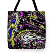 Rainbow Flurry Art Tote Bag