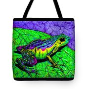 Rainbow Frog 2 Tote Bag