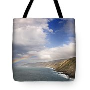 Rainbow From The Sea Tote Bag