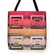 Rainbow Glass Tote Bag