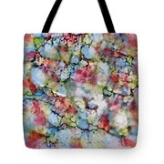 Rainbow Granite Tote Bag