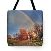 Rainbow Hdr Tote Bag
