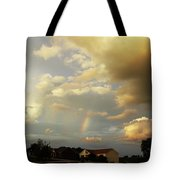 Rainbow House Tote Bag
