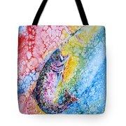 Rainbow Hunter Tote Bag