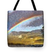 Rainbow - Id 16217-152046-6654 Tote Bag