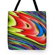 Rainbow In Abstract 04 Tote Bag