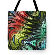 Rainbow In Abstract 05 Tote Bag