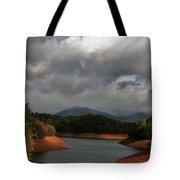 Rainbow In North Carolina Tote Bag