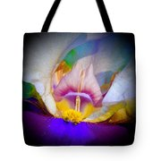 Rainbow In The Iris Tote Bag