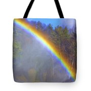 Rainbow In The Mist Tote Bag