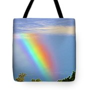 Rainbow In The Sky Tote Bag