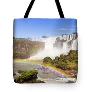 Rainbow In The Water Tote Bag