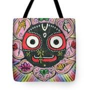 Rainbow Jagannath Tote Bag