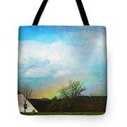 Rainbow Landscape Tote Bag