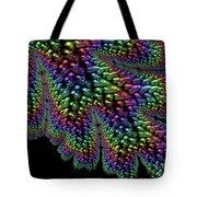 Rainbow Leaf Tote Bag