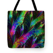 Rainbow Leaves Tote Bag