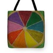 Rainbow Lemon Tote Bag