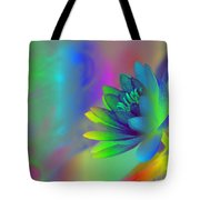 Rainbow Lily Tote Bag