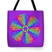 Rainbow Mandala Tote Bag