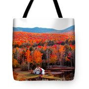 Rainbow Of Autumn Colors Tote Bag
