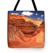 Rainbow Of Colors At The Wave Tote Bag