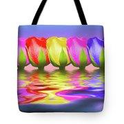 Rainbow Of Roses II Tote Bag