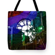 Rainbow Of Time Tote Bag
