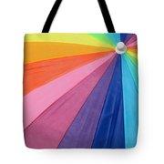 Rainbow On The Beach Tote Bag