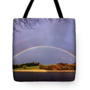 Rainbow On The Double Tote Bag