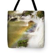 Rainbow On The Falls Tote Bag