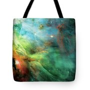 Rainbow Orion Nebula Tote Bag by Jennifer Rondinelli Reilly - Fine Art Photography