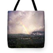 Rainbow Over Gunks Tote Bag