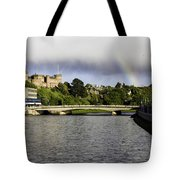 Rainbow Over Inverness Tote Bag