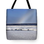 Rainbow Over The Arctic Tote Bag