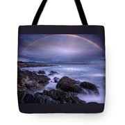 Rainbow Over The Biddeford Pool Tote Bag
