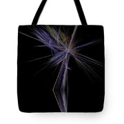 Rainbow Palm Tote Bag