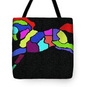 Rainbow Pony Tote Bag