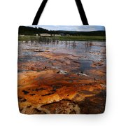 Rainbow Pool - Yellowstone Np Tote Bag