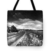Rainbow Road - Id 16217-152021-8918 Tote Bag