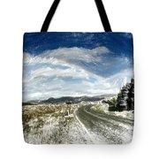 Rainbow Road - Id 16217-152040-7206 Tote Bag